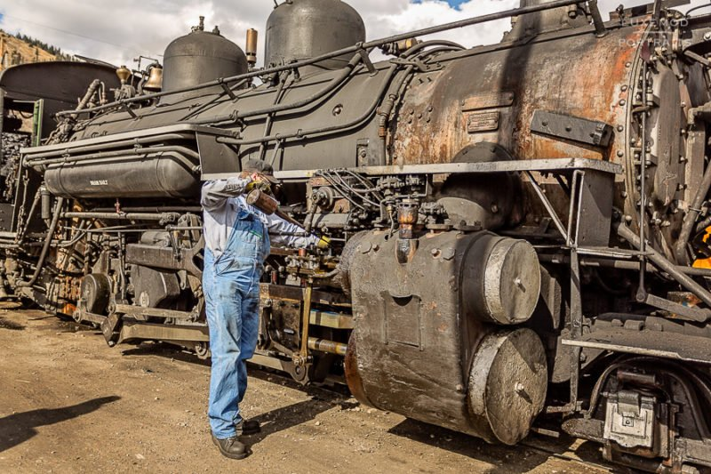 Locomotive Durango-Silverton Railroad