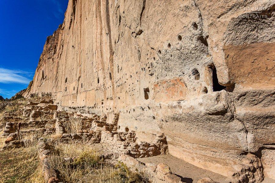 bandolier pueblos ruins