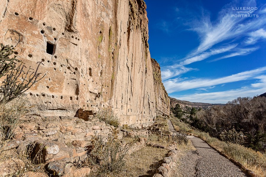 bandolier pueblos main loop trail