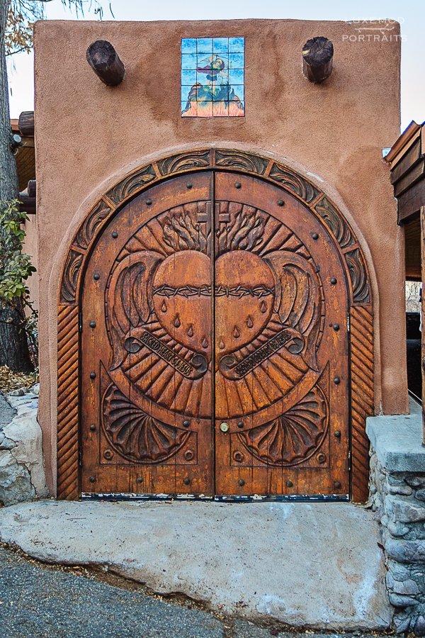 chimayo new mexico door