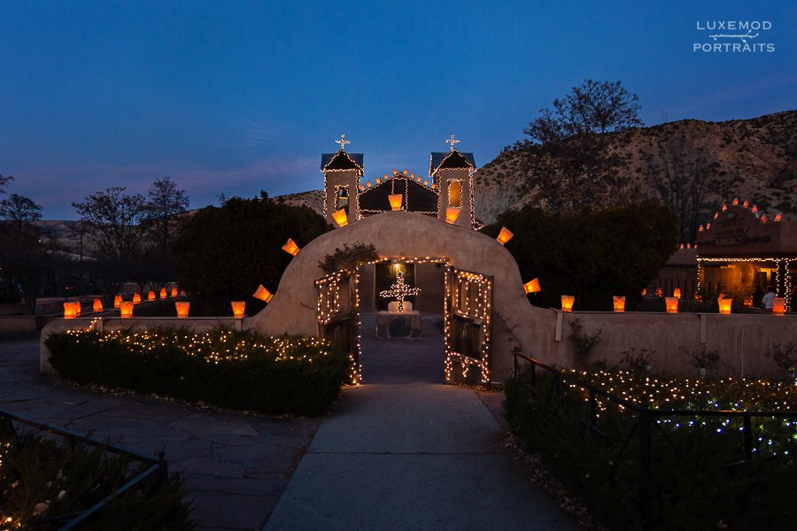 chimayo santuario lights