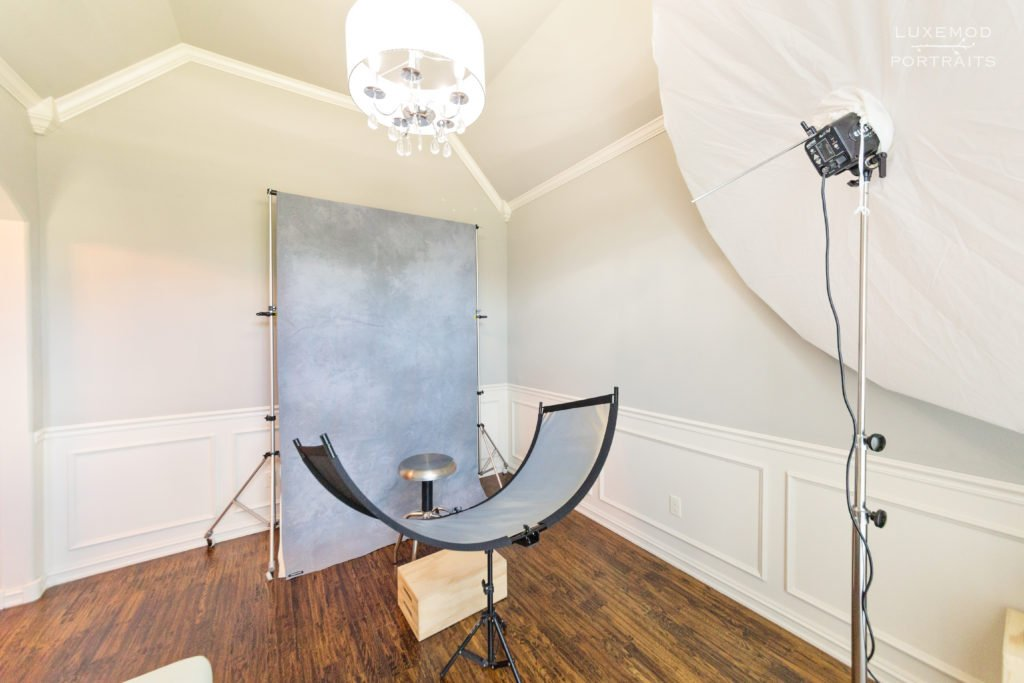 wren & willow photography studio portrait area