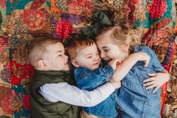 fall sibling tulsa lifestyle family portraits