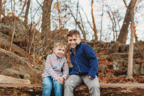 cute boys family lifestyle session tulsa