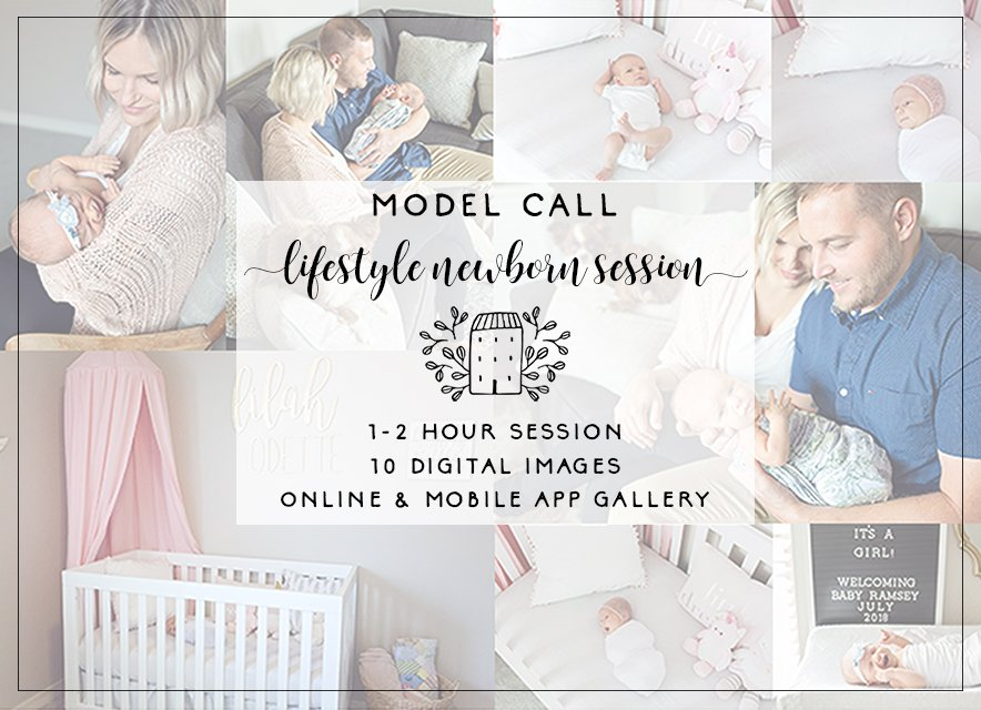 lifestyle newborn model call tulsa
