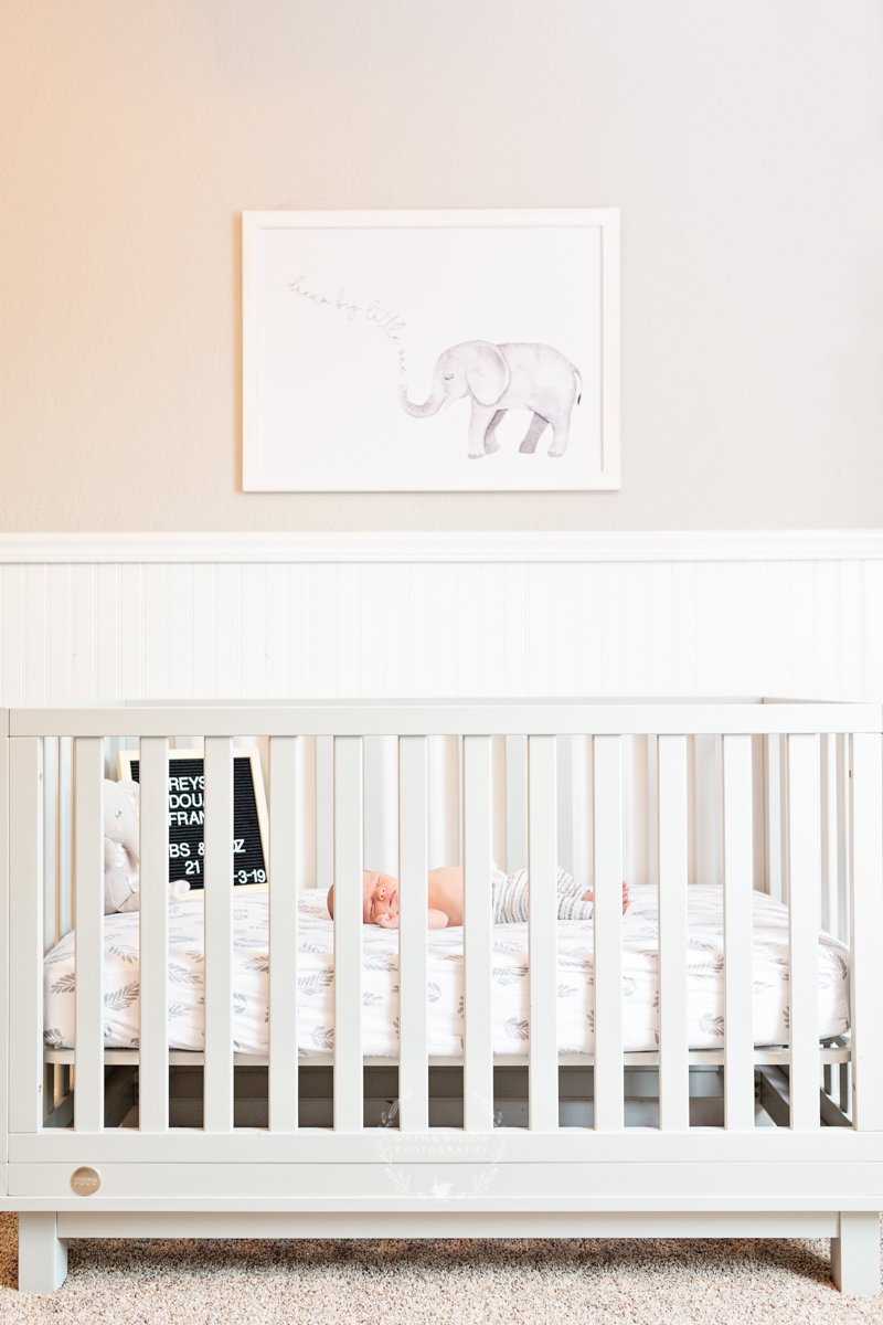 cute nursery photo lifestyle newborn