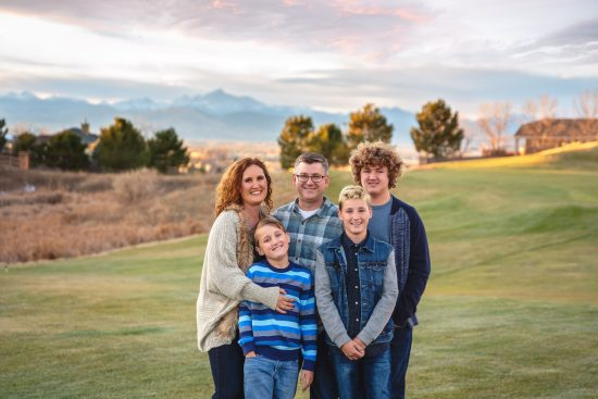 lifestyle family photo session Erie, CO