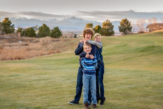 mountain lifestyle family photo session Erie, CO